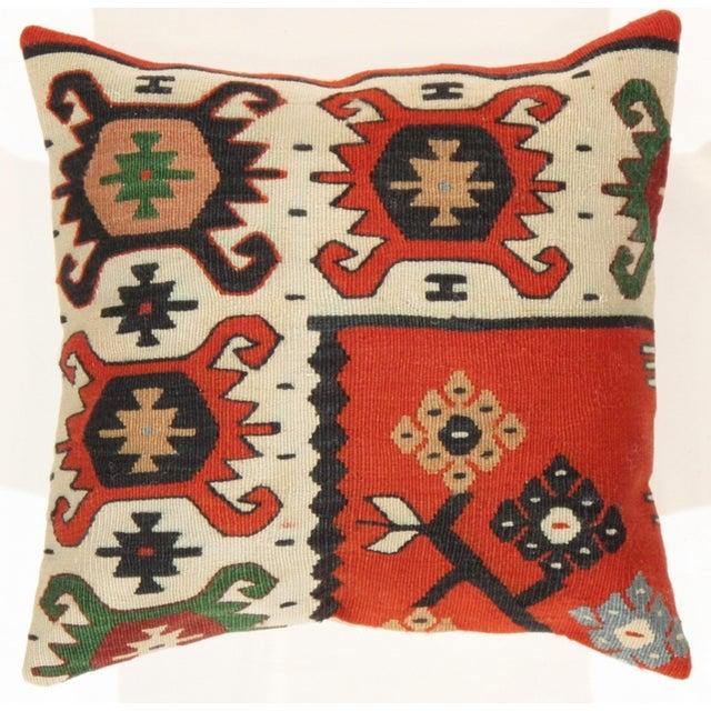 Pasargad Decorative Vintage Kilim Pillow - Image 3 of 3