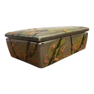 Lava Glazed Italian Alvino Bagni Trinket Box