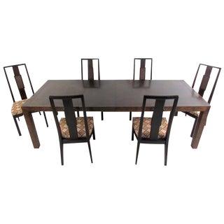 John Stuart Mid-Century Modern Dining Room Set