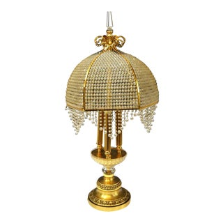 Charming Gilted Table Lamp