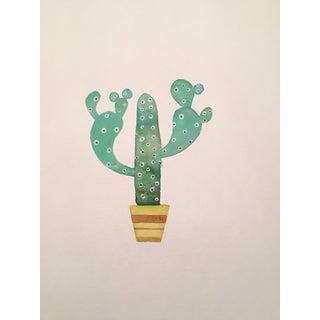 70's Cactus Watercolor