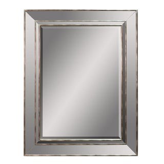 Sarreid LTD Modern Silver Mirror