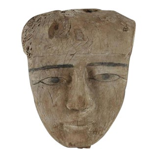 Ancient, Egyptian Mummy Mask