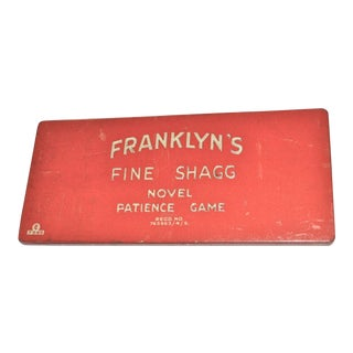 1930 Franklyns Fine Shagg Patience Puzzle Game