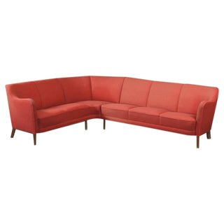 1940s Danish Sectional Sofa