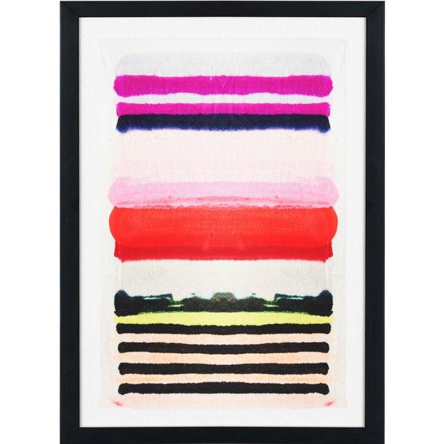 """Kristi Kohut """"Vibrant Stripe"""" Fine Art Giclée - Image 3 of 3"""