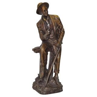 Vintage Bronze Sculpture by Moreau