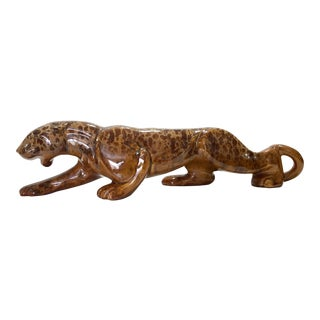 Royal Haeger Stalking Panther Statue