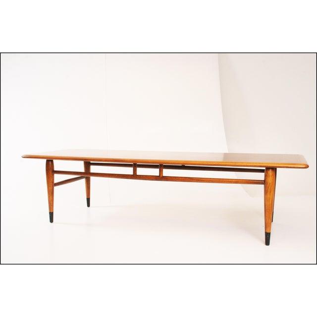 Lane Mid Century Surfboard Coffee Table: Lane Acclaim Mid-Century Modern Coffee Table
