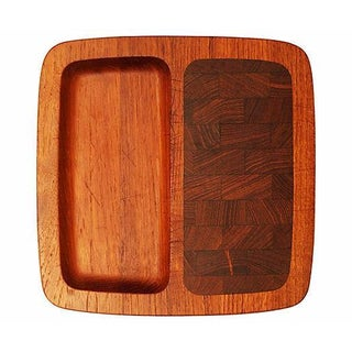 Jens Quistgaard Staved Teak Cheese Board