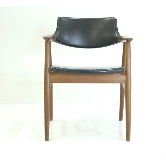 Image of Mid Century Teak Arm Chair by Erik Kirkegaard