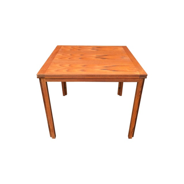 Vintage Danish Modern Extension Teak Table - Image 1 of 7