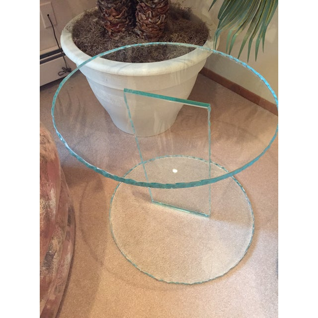Modern Glass End Tables - Set of 3 - Image 5 of 6