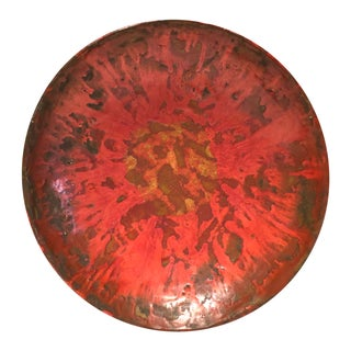 Mid-Century Studio Pottery Bowl Orange