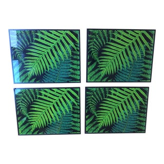 Dransfield & Ross Tropical Glass Placemats - Set of 4