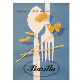 1952 Carboni Original Italian Barilla Pasta Ad