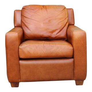 Leather Single Club Chair