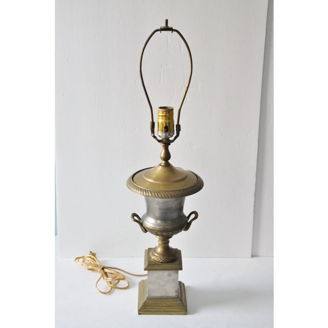 Neoclassical Trophy Urn Lamp - Image 2 of 6