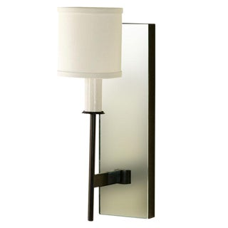 Paul Marra One-Arm Mirror Back Sconce