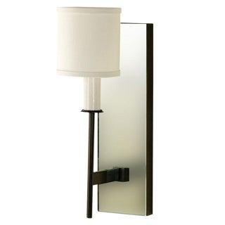 Paul Marra One-Arm Mirror Back Sconce