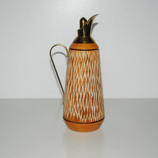 Aldo Tura Wood & Brass Decanters - A Pair - Image 8 of 11