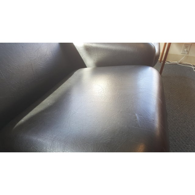 Ray Wilkes for Herman Miller Spaceage Chiclet Sofa in Black Leather - Image 9 of 11