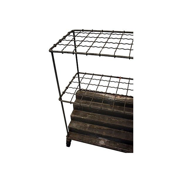Industrial Architectural Plan Storage Cart - Image 6 of 6