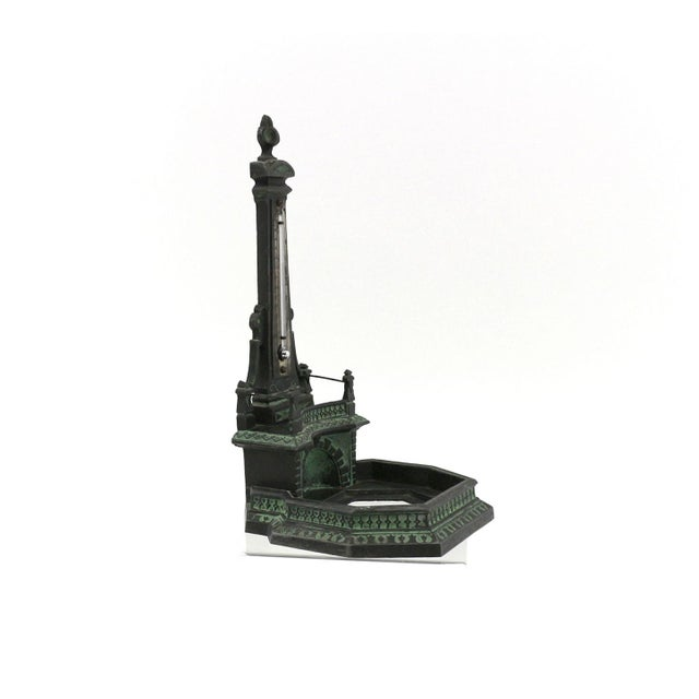 1920s N. Muller Inkwell Thermometer Fountain - Image 6 of 7