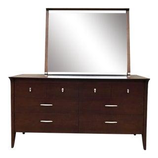 Mid-Century Drexel Profile Dresser & Mirror
