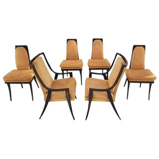 Harvey Probber Mid-Century Dining Chairs - Set of 6