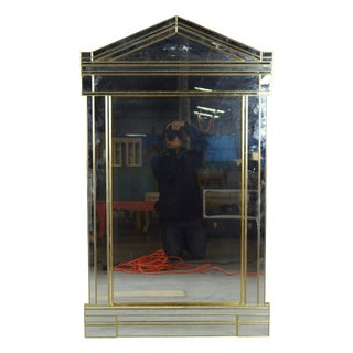 Greek Capitol-Style Mirror