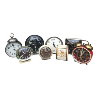Vintage Clock Collection - Set of 8