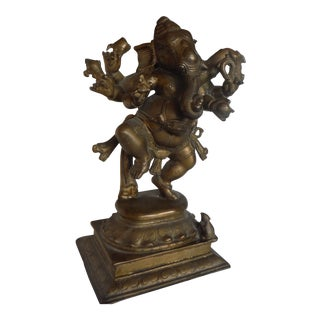 Cast Bronze Ganesha