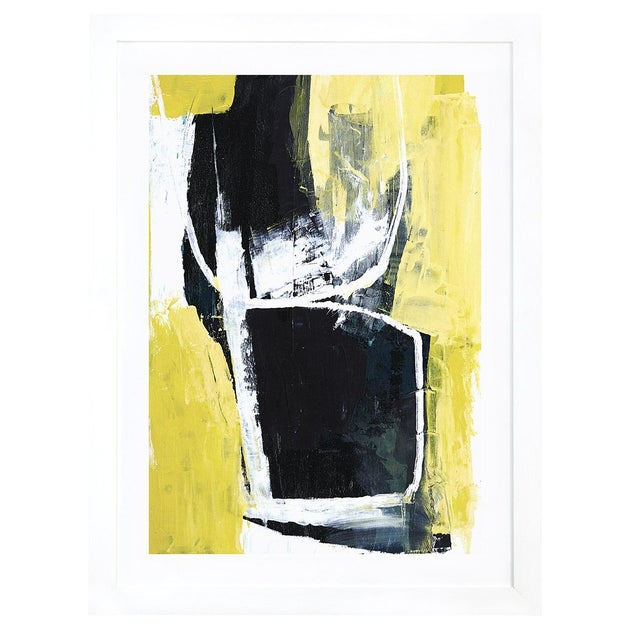 'Yellow Cocktail' by Heather Chontos Framed Print - Image 1 of 3