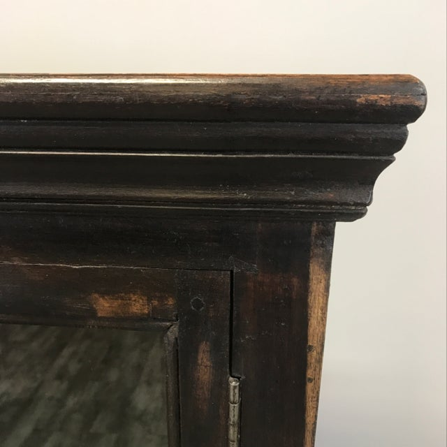 crate barrel wood glass door wall unit chairish. Black Bedroom Furniture Sets. Home Design Ideas