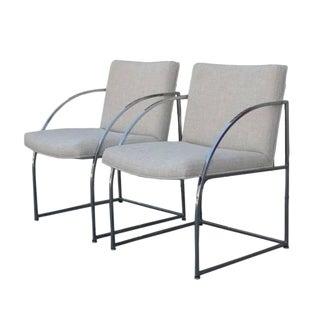Milo Baughman for Thayer Coggin Chairs - a Pair