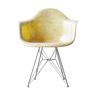 Herman Miller Eames Parchment DAR Shell Chair