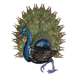 Peacock Wall Hanging