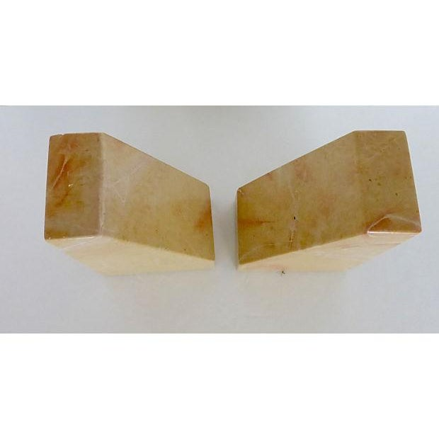Beige Marble Architectural Bookends - Image 5 of 6