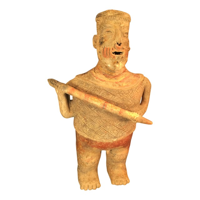 Pre-Columbian Colima Standing Pottery Figure - Image 1 of 11