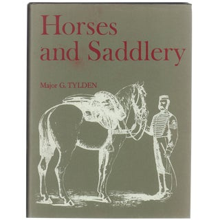 'Horses and Saddlery' Book by Major G. Tylden