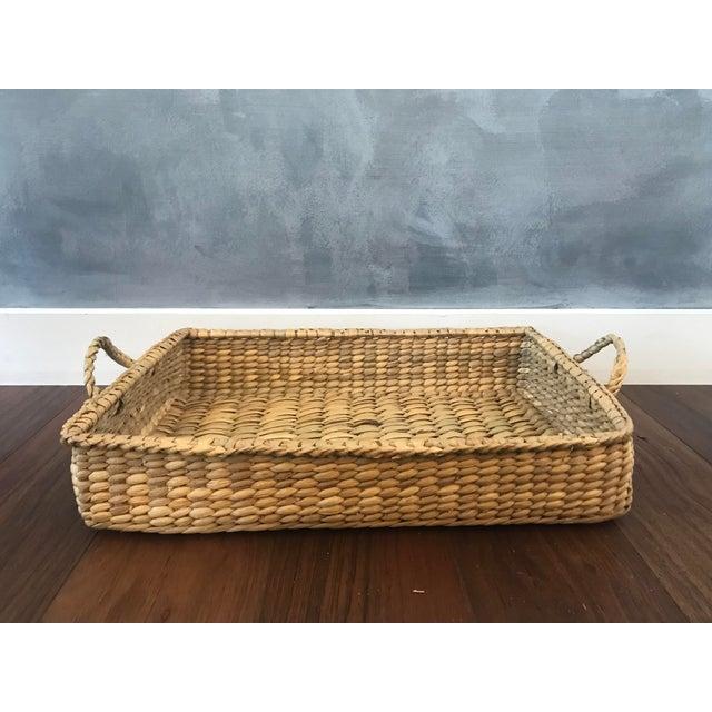 Wicker Basket Trays - Set of 3 - Image 4 of 7
