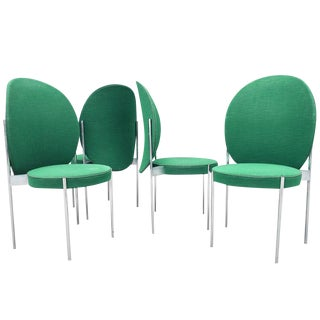 Mid-Century Chairs by Verner Panton for Thonet