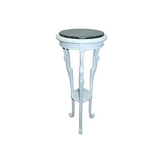 Egrets Legs Stand Table with Marble Top