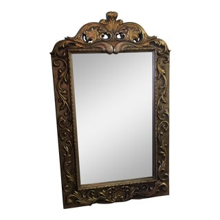 Silver & Gold Floor Mirror