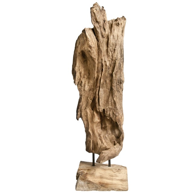 Image of Recycled Driftwood on Stand