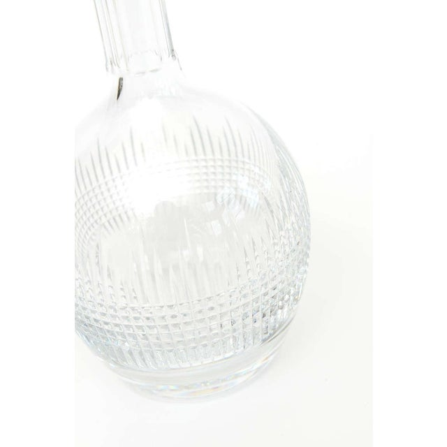 "Image of Beautiful Baccarat ""Nancy"" Crystal Decanter/ SATURDAY SALE"