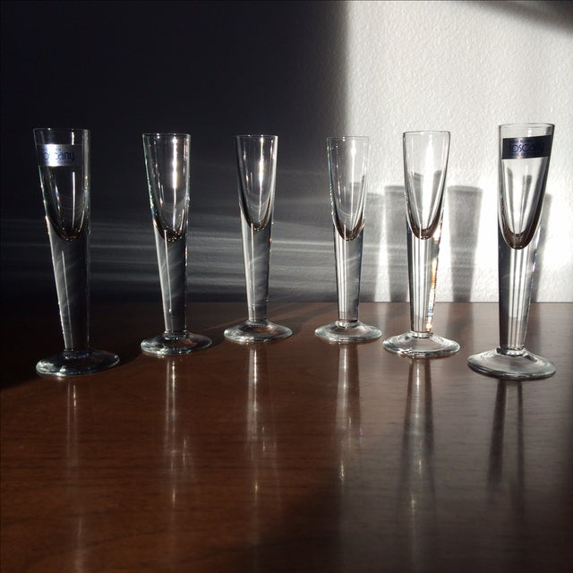 Vintage Cordial Glasses - Set of 6 - Image 4 of 11