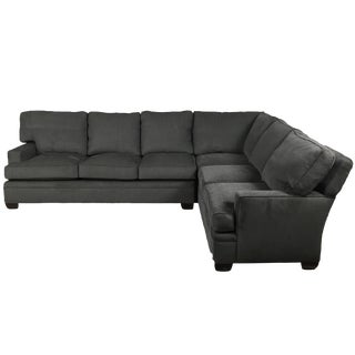 Gray Kravet Sectional Sofa