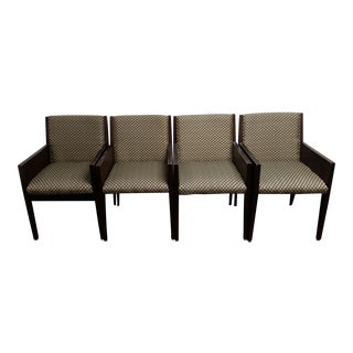 Myrtle Desk Company Closed-Back Chairs- Set of 4